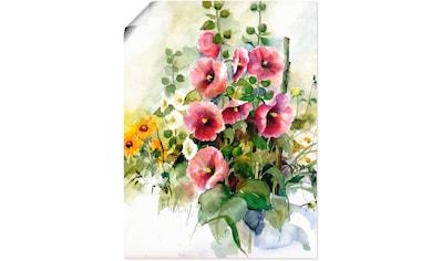 Artland Wandbild »Blumen Zusammenstellung I« kaufen