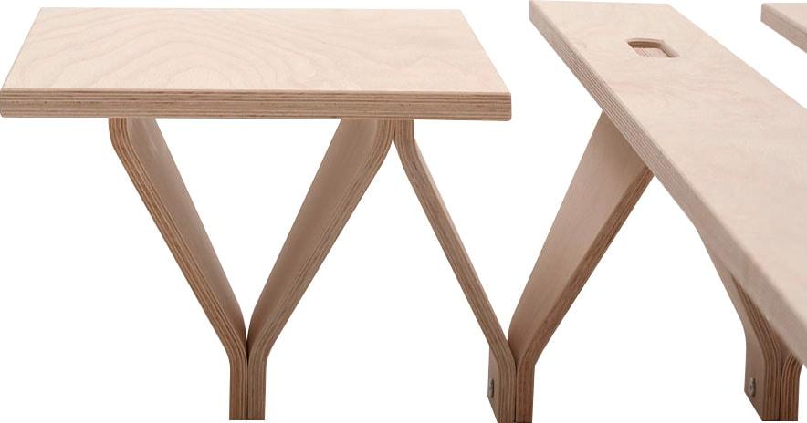 Tojo Nachttisch lieg-Nachttisch, Breite/Tiefe: 40/34 cm beige Nachtschränke Nachttische Tische