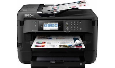 Epson »WorkForce WF - 7720DTWF« Multifunktionsdrucker (WLAN (Wi - Fi),NFC) kaufen
