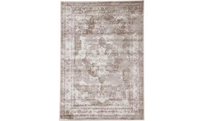 carpetfine Teppich »Sol«, rechteckig, 8 mm Höhe, Vintage Look, Wohnzimmer kaufen