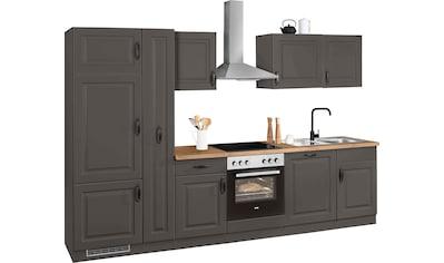 wiho Küchen Küchenzeile »Erla«, mit E-Geräten, Breite 310 cm kaufen