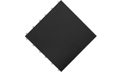 FLORCO Klick - Fliesen »floor«, 6 Stück á 40x40 cm, schwarz kaufen