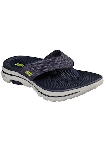 Skechers Zehentrenner »GO WALK 5«, mit weichem Zehensteg kaufen