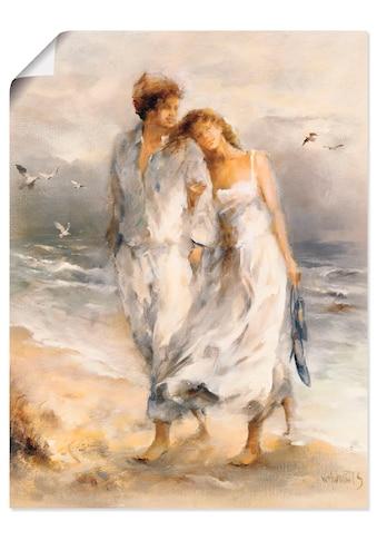 Artland Wandbild »Verliebt«, Paar, (1 St.), in vielen Größen & Produktarten... kaufen