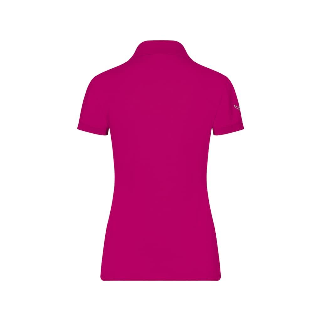 Trigema Poloshirt mit Swarovski® Kristallen