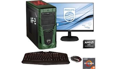 Hyrican »Military SET01876« Gaming - PC - Komplettsystem (AMD, Ryzen 5, GeForce) kaufen