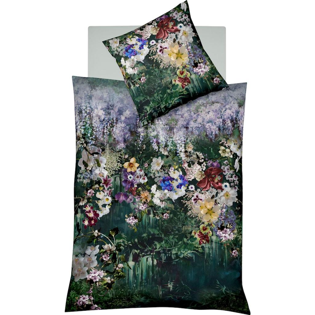 fleuresse Wendebettwäsche »Bed Art 4124«, tropische Gärten