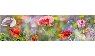 MySpotti Küchenrückwand »fixy Summer Meadow«, selbstklebende und flexible... kaufen