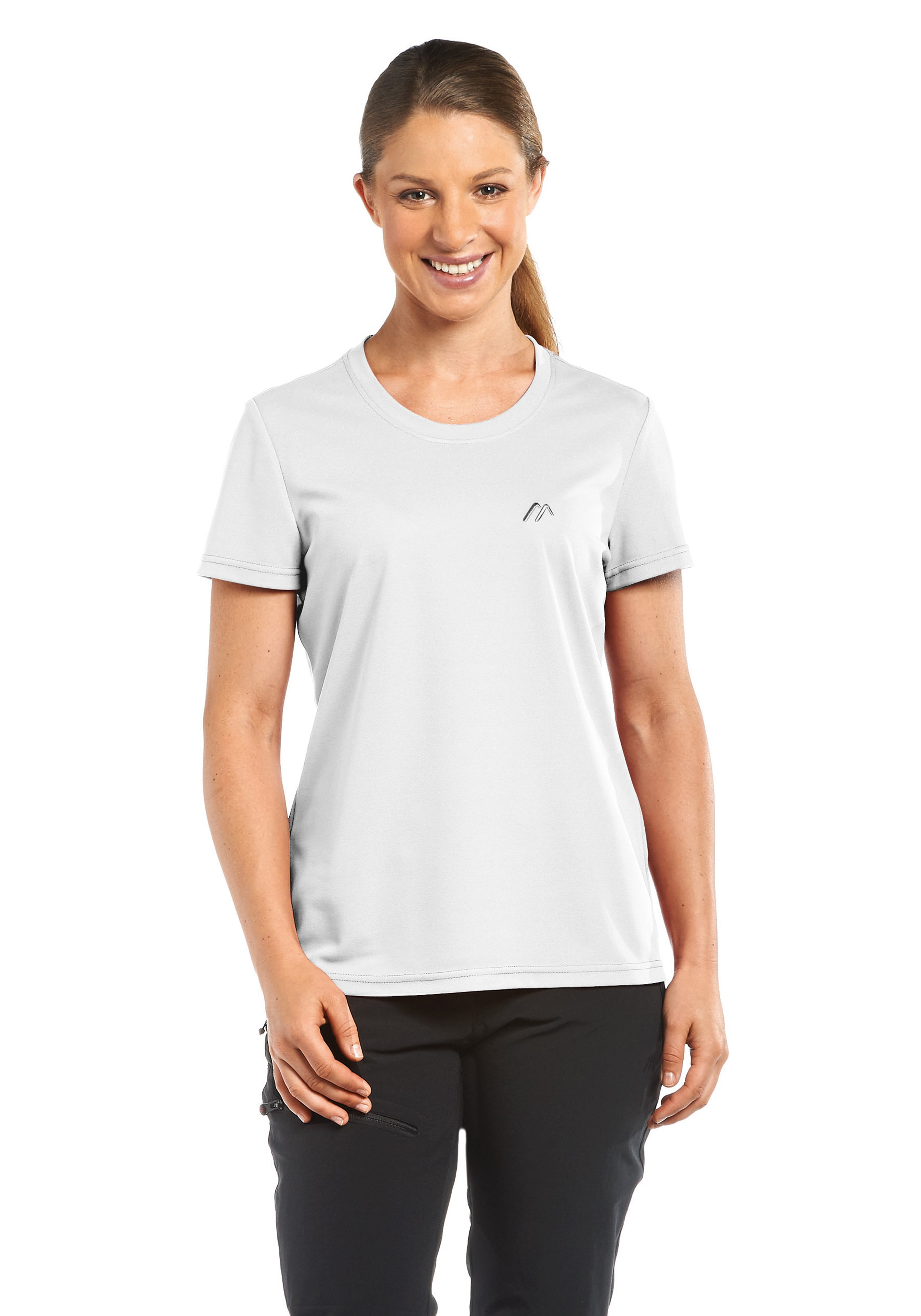 Maier Sports Funktionsshirt Waltraud   Bekleidung > Shirts > Funktionsshirts   Weiß   Maier Sports