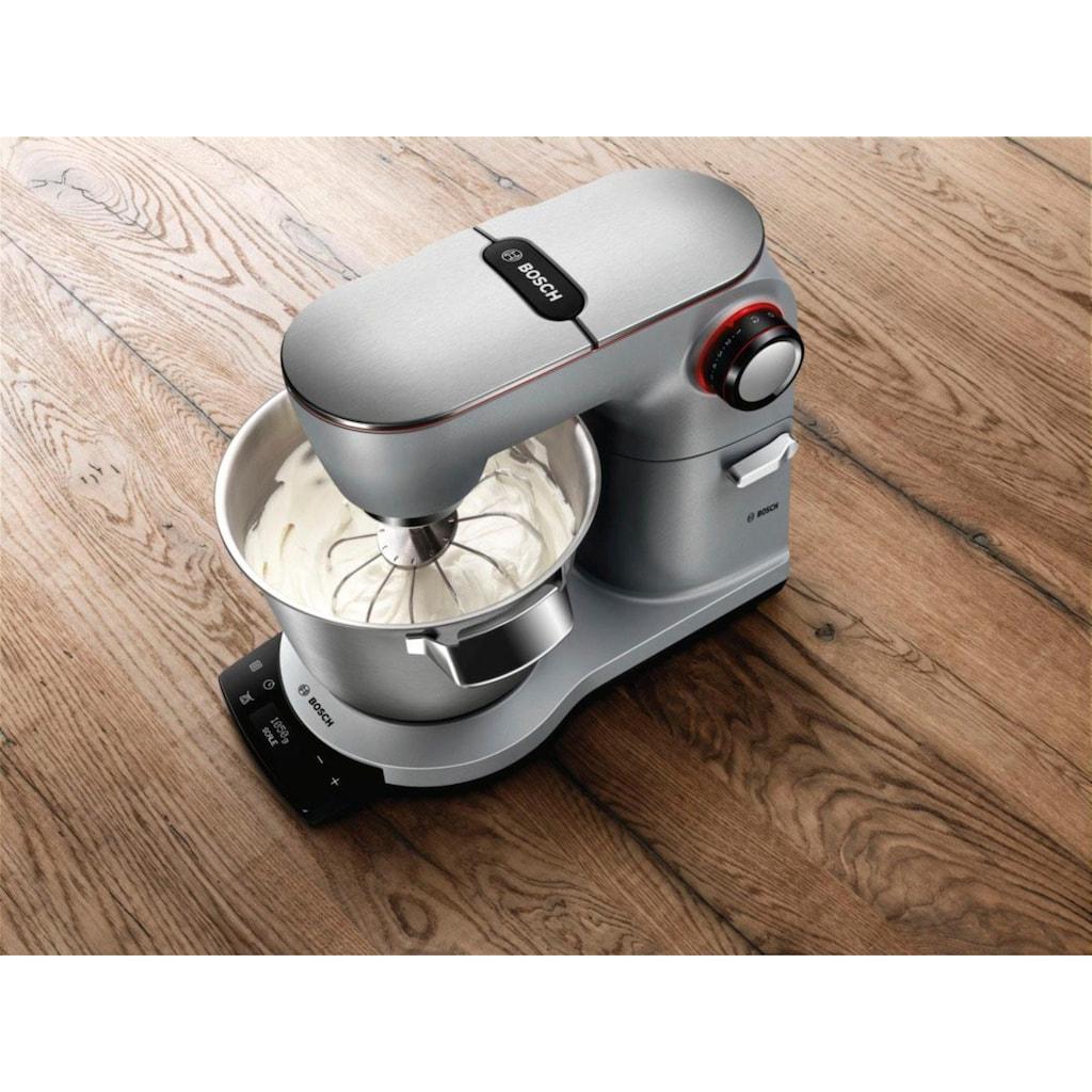 BOSCH Küchenmaschine »OptiMUM MUM9AX5S00«, 1500 W, 5,5 l Schüssel, mit integrierter Waage