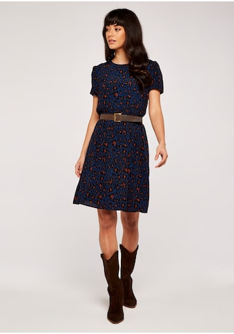 Apricot Druckkleid »Shirred Waist Short Sleeve Dress«, mit tollem Druck kaufen