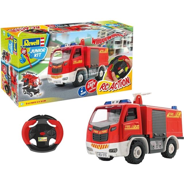 "Revell® RC-Auto ""Junior Kit, RC Feuerwehrauto"" (40-tlg.)"
