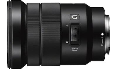 Sony Zoomobjektiv »SEL-P18105G E PZ« kaufen