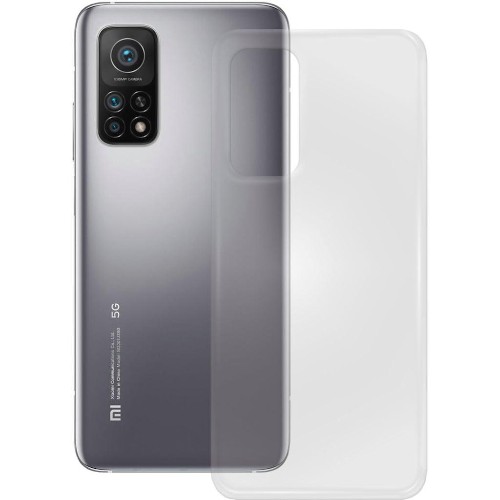 PEDEA Handyhülle »Soft TPU Case für Xiaomi Mi 10T Pro«, Displayschutz