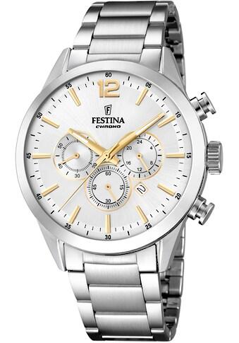 Festina Chronograph »Timeless Chronograph, F20343/1« kaufen