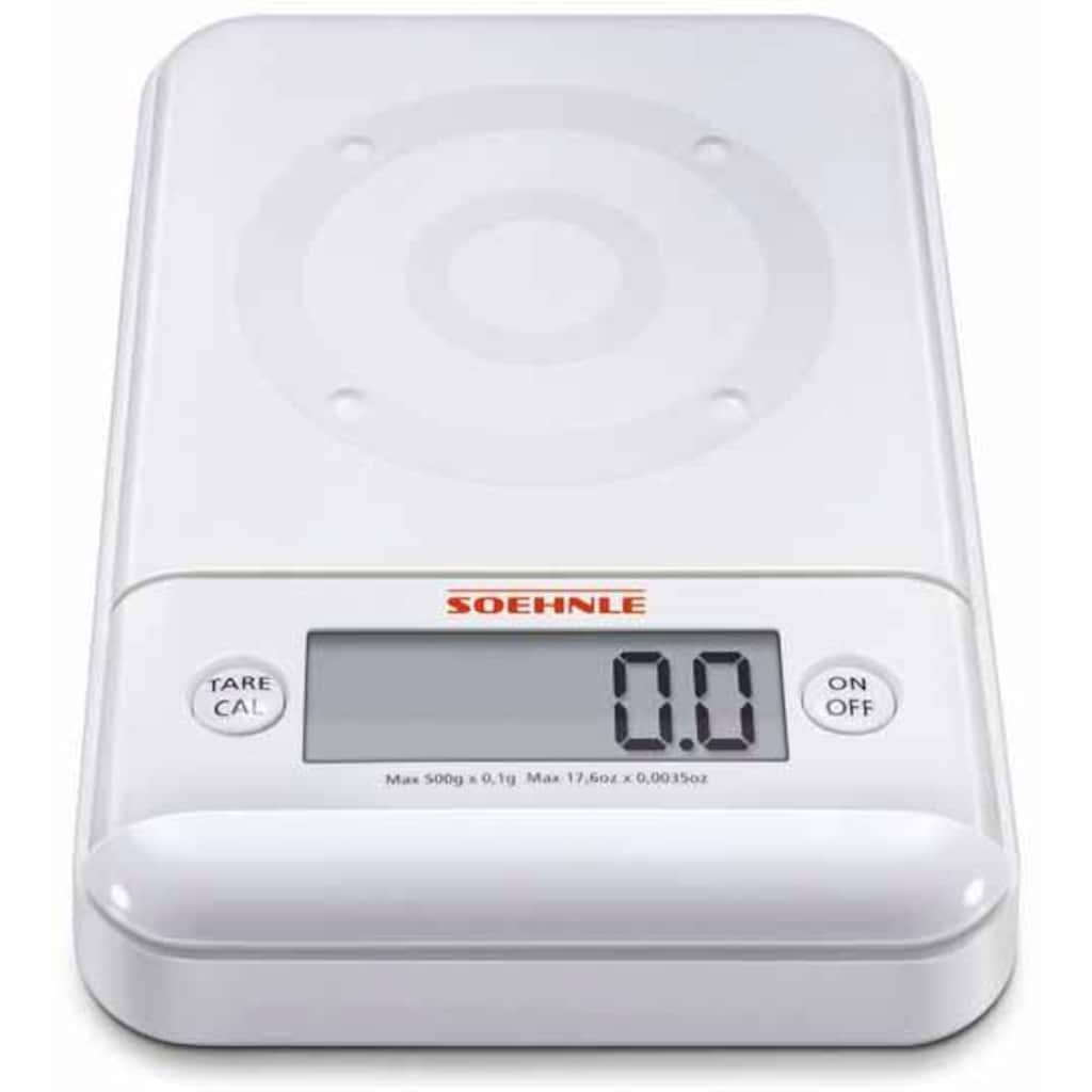 Soehnle Feinwaage »Ultra 2.0«, (3 tlg.), wiegt in 0,1 g Schritten