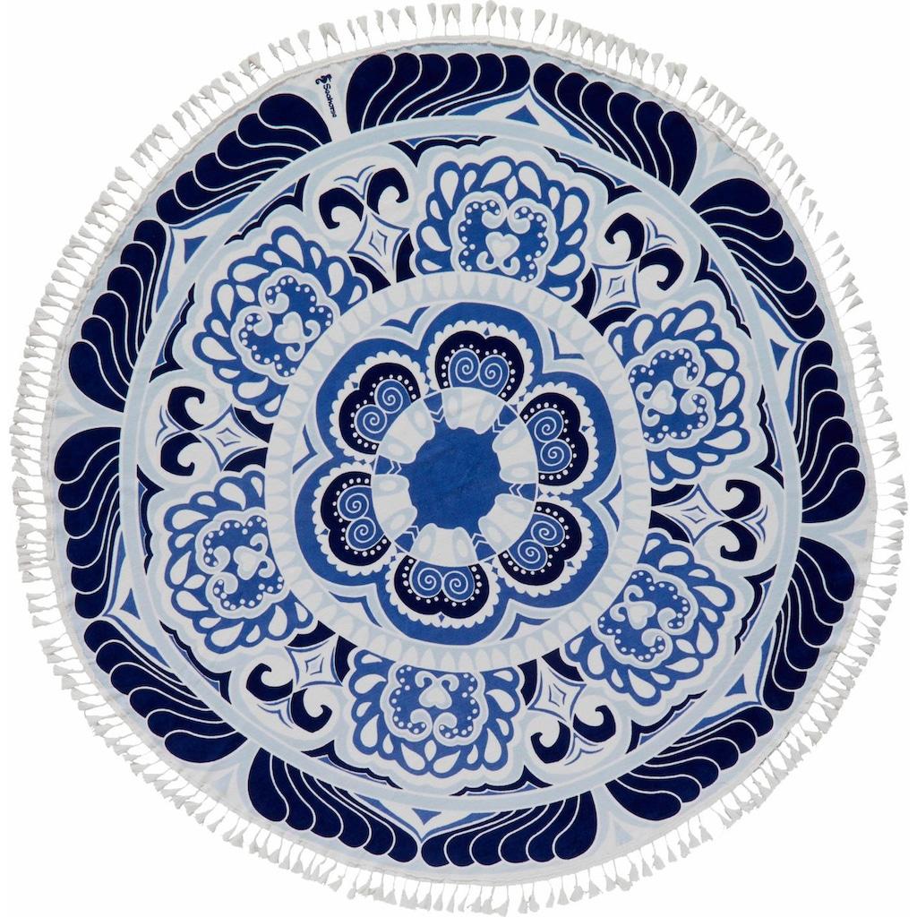Seahorse Strandtuch »Carouse«, (1 St.), mit Blumenoptik