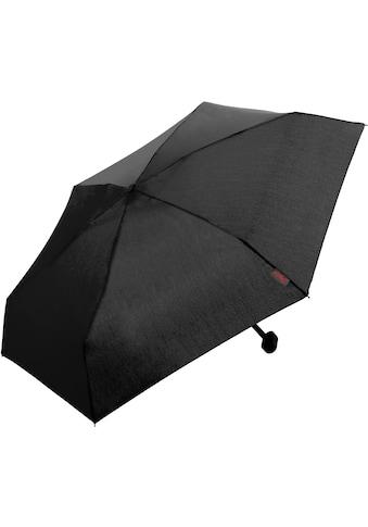 Euroschirm Taschenregenschirm »Dainty, schwarz« kaufen