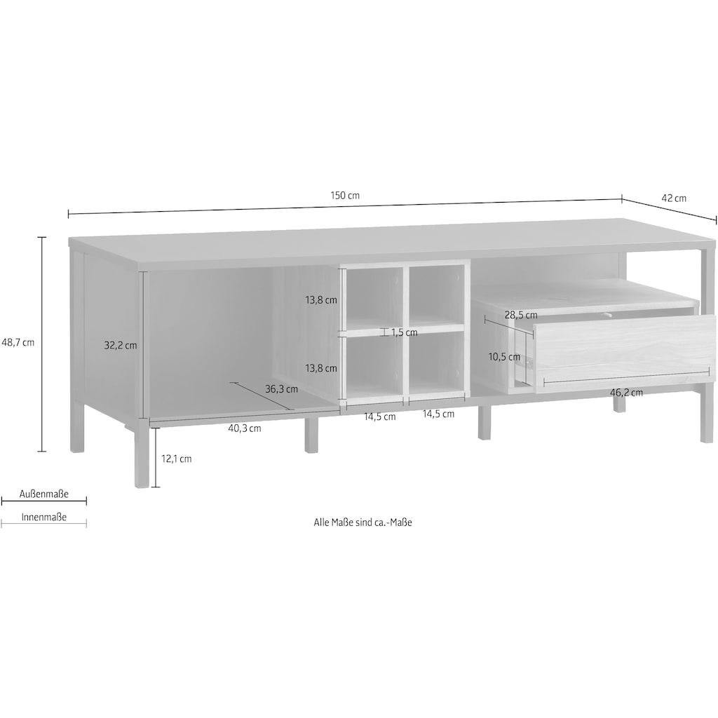FORTE TV-Board, Breite 150 cm