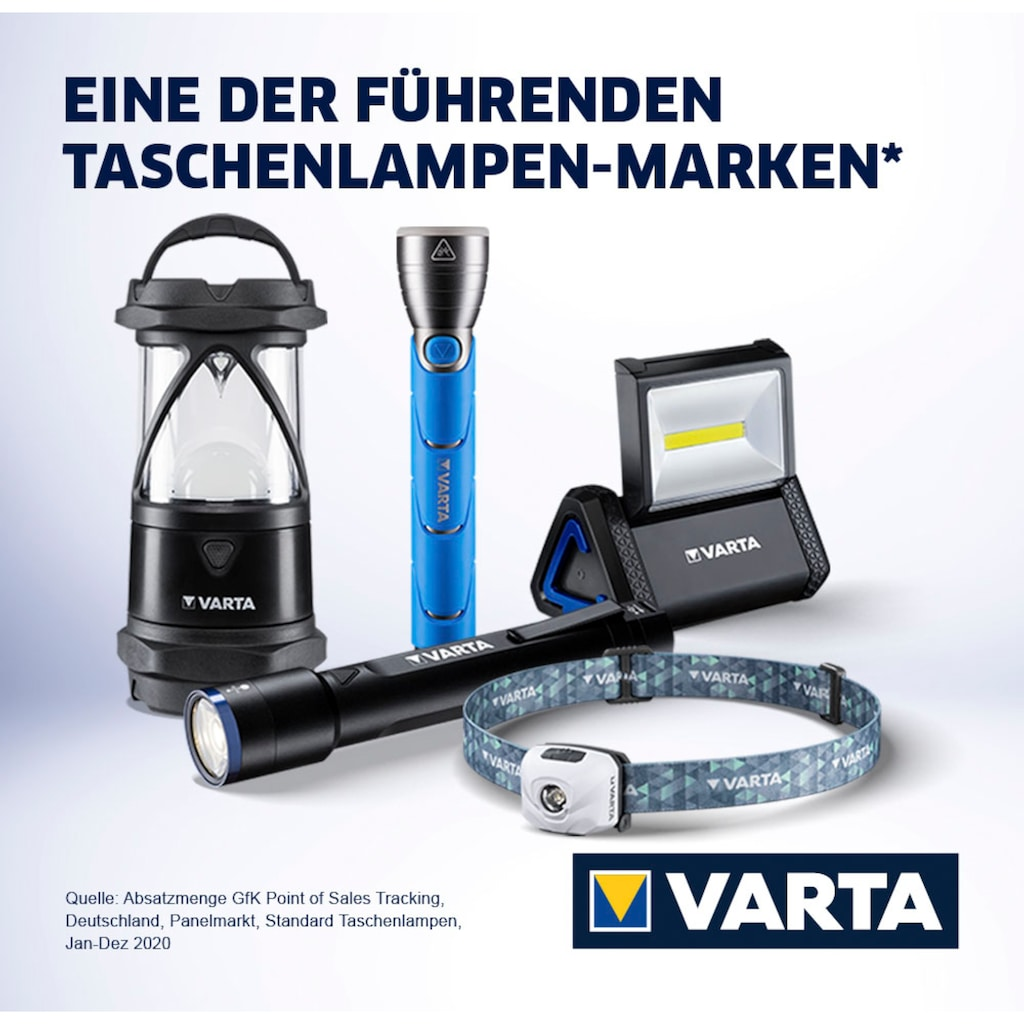 VARTA Kopflampe »Outdoor Sports Ultralight H30R«