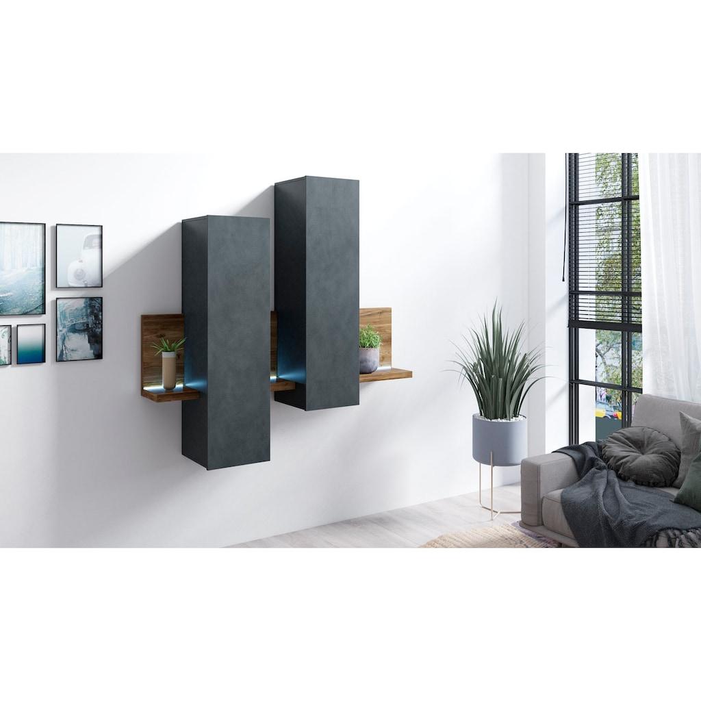 TRENDMANUFAKTUR Hängeregal »Bota«, Höhe 142 cm