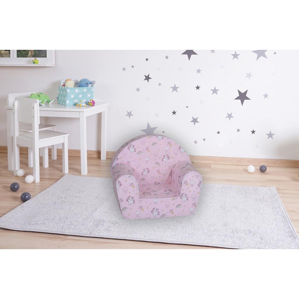 Knorrtoys® Sessel »Rainbow Unicorn«, für Kinder; Made in Europe