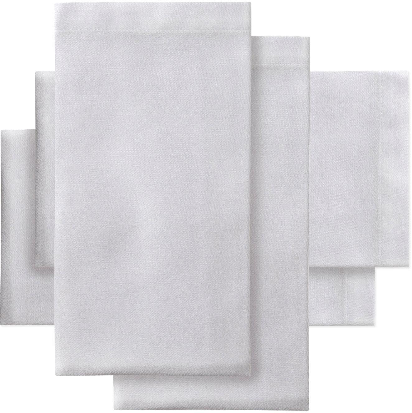 DDDDD Stoffserviette Latus, Damast, 50x50 cm weiß Stoffservietten Tischwäsche