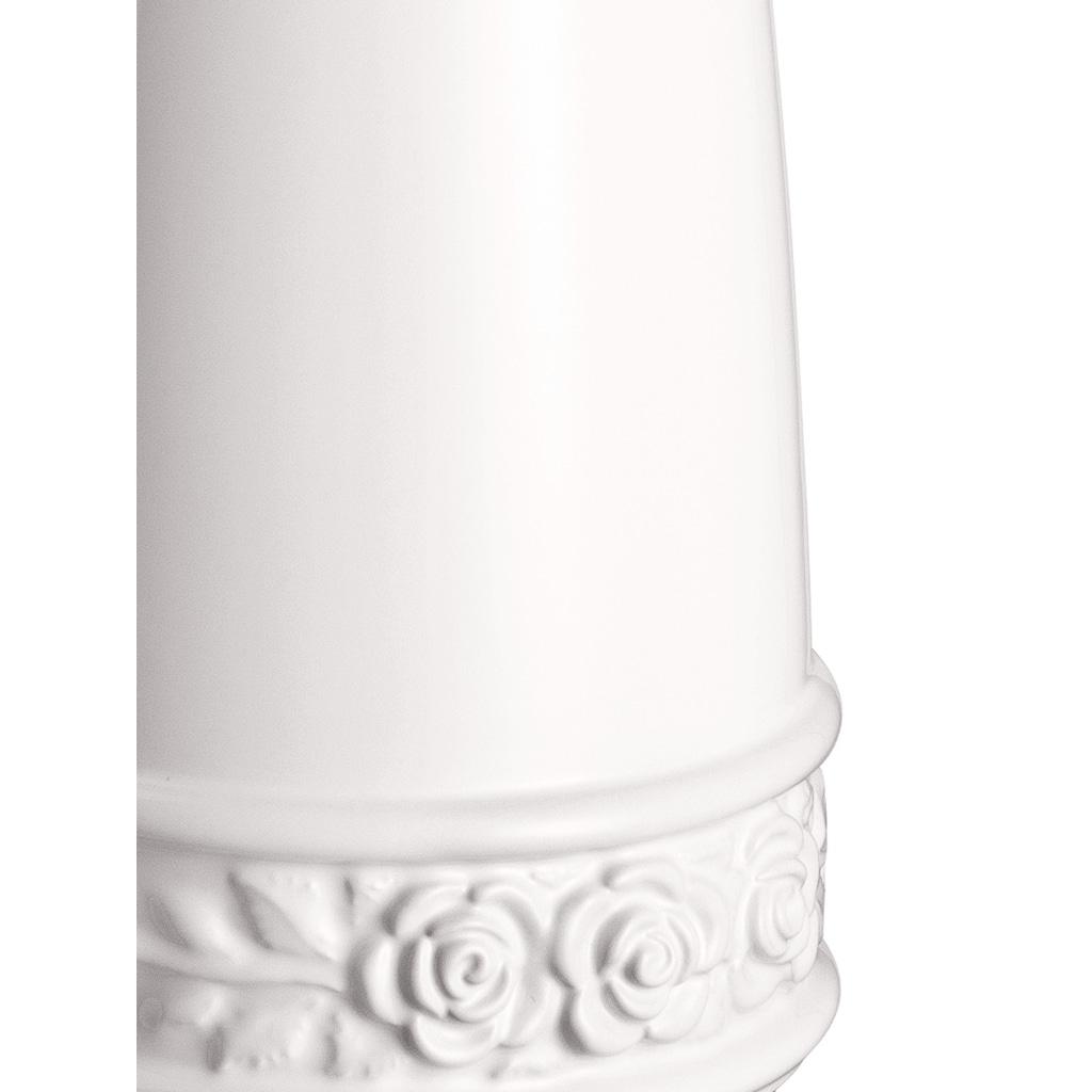WC-Garnitur mit Rosenrelief