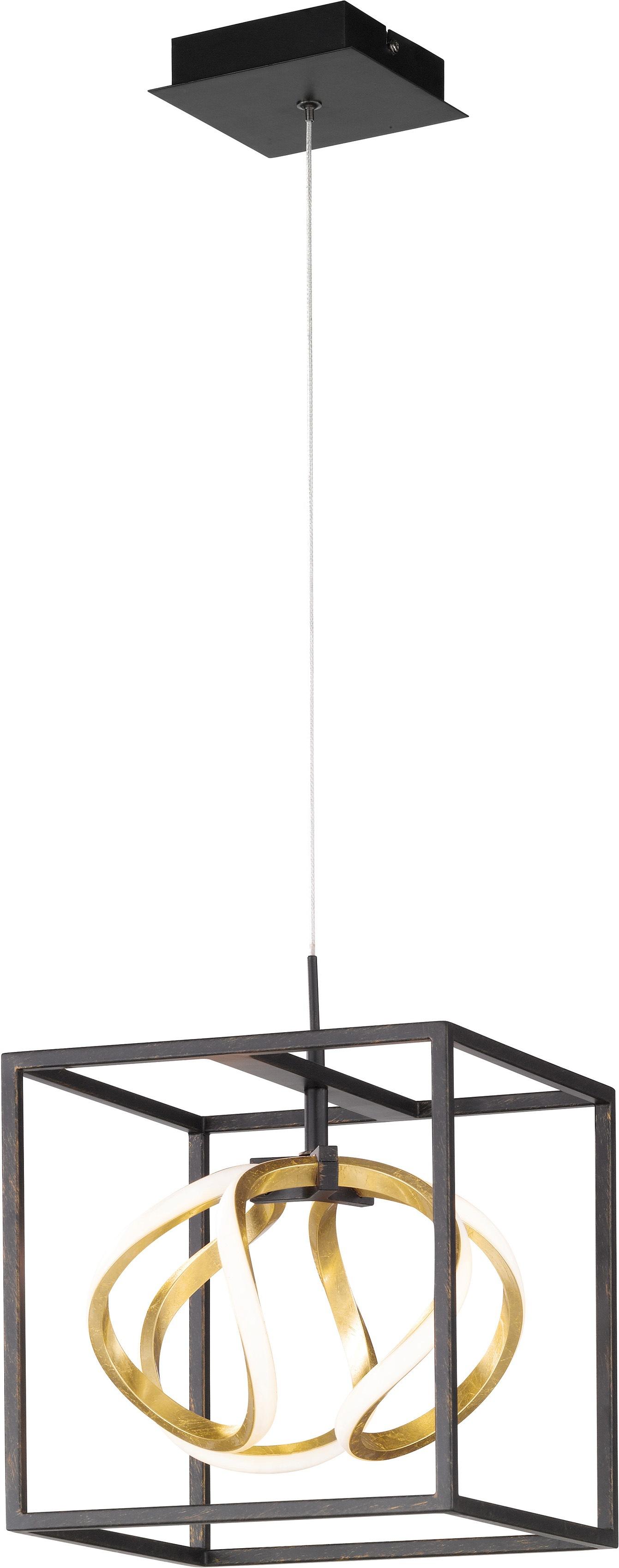 FISCHER & HONSEL LED Pendelleuchte Gesa, LED-Board, 1 St., Warmweiß