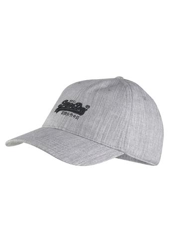 Superdry Baseball Cap, mit aufgestickten Superdry Logo vorn kaufen