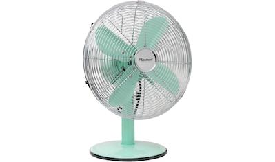 bestron Tischventilator »Summer Breeze«, mit Schwenkfunktion im Retro-Design, Höhe: 43... kaufen