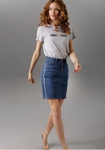 Aniston CASUAL Jeansrock kaufen