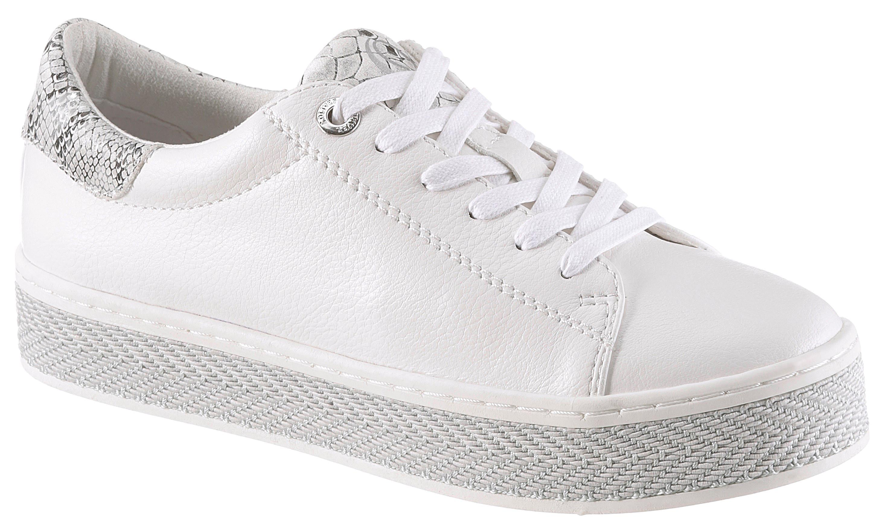 s.Oliver RED LABEL Plateausneaker | Schuhe > Sneaker > Plateau Sneaker | Weiß | S.OLIVER RED LABEL