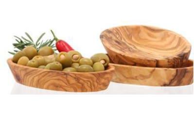 Olivenholz - erleben Dipschale Holz, (Set 3 - tlg.) kaufen