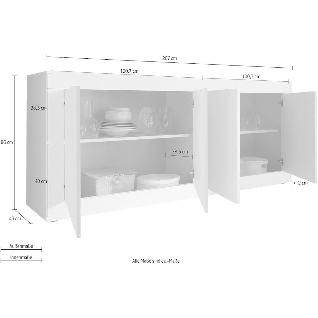 LC Sideboard »Basic«, 207 cm