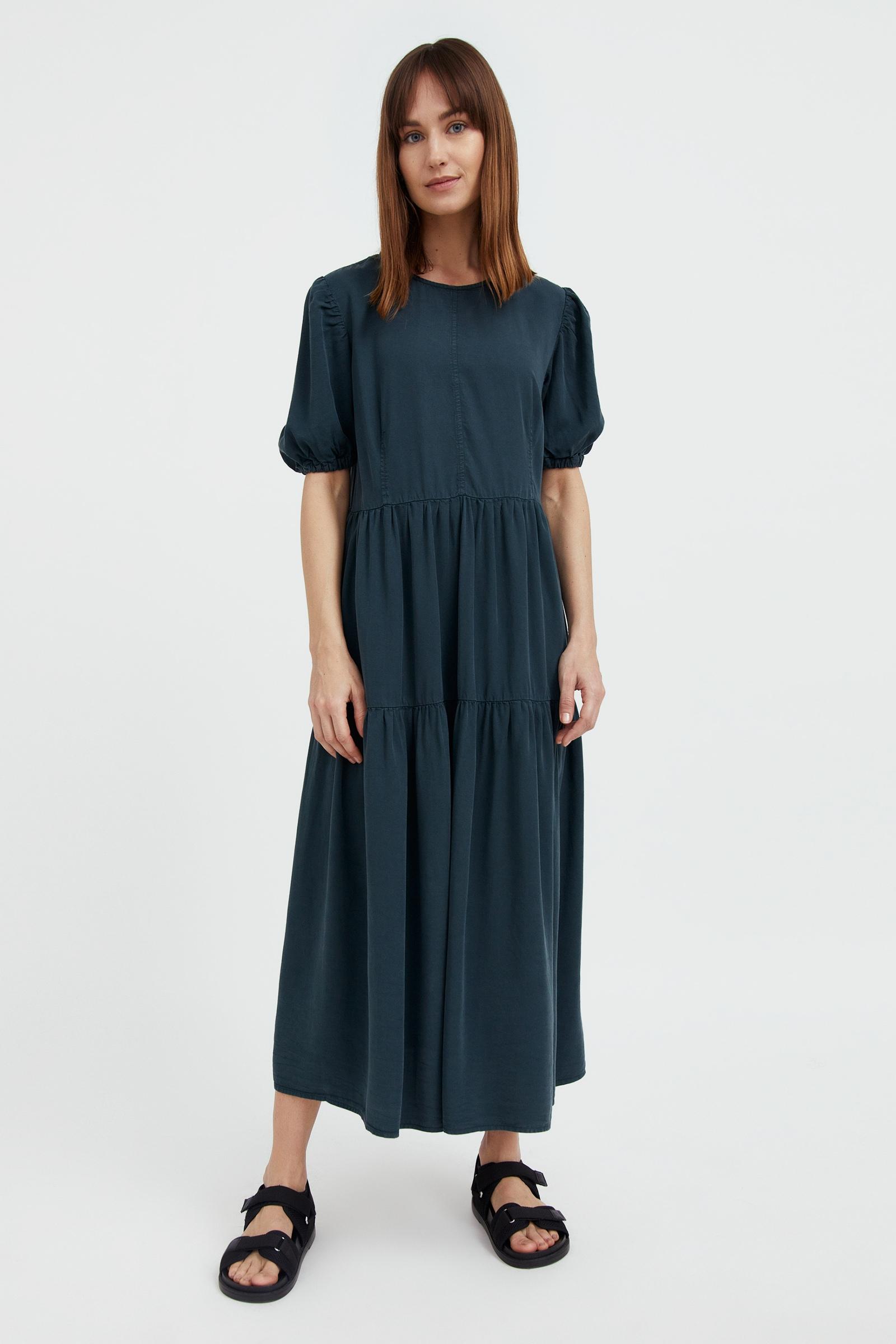 finn flare -  Jeanskleid, mit ausgestelltem Schnitt