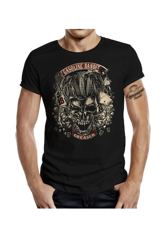 GASOLINE BANDIT® T - Shirt mit coolem Front - Print kaufen