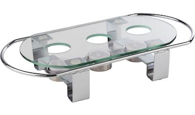 APS Stövchen, Metall/Glas, 3-flammig kaufen