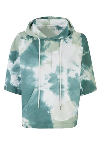 Heimatliebe 3/4 Arm-Pullover, im Batiklook kaufen