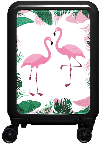meinTrolley Hartschalen-Trolley »Flamingo, 77 cm«, 4 Rollen, Made in Germany kaufen