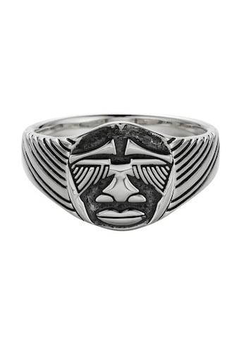 CAÏ Ring »925/- Sterling Silber oxidiert Maske Afrika« kaufen