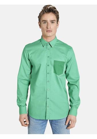 SHIRTMASTER Langarmhemd »finallyspring«, in Ton-in-Ton Design kaufen