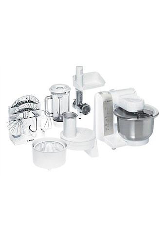 BOSCH Küchenmaschine »MUM4880«, 600 W, 3,9 l Schüssel, mit Edelstahl-Rührschüssel und... kaufen