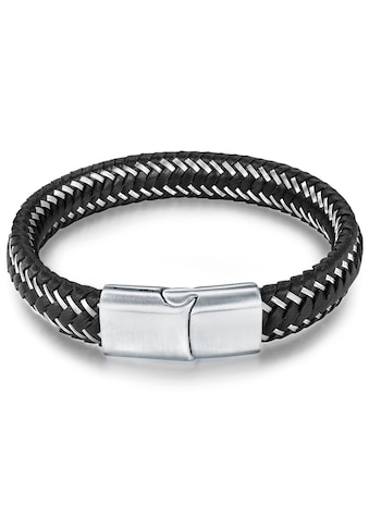 True Rebels Armband »KI279«, (1 tlg.), aus Echtleder kaufen