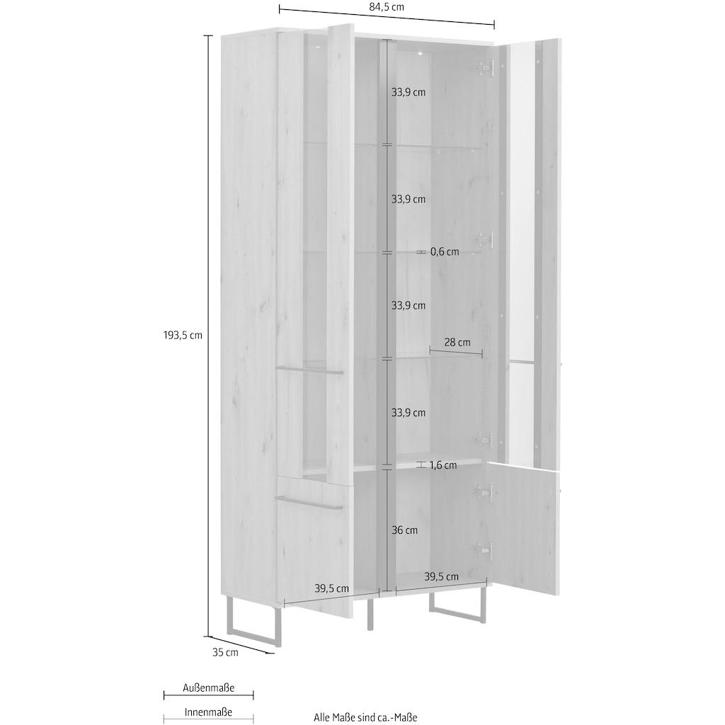 my home Highboard »Sardinia«, Höhe ca. 193 cm