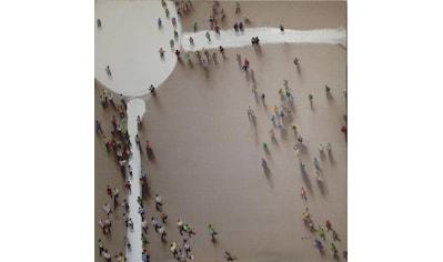 Kayoom Ölbild »Menschengruppe«, 100cm x 100cm kaufen