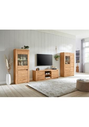 Premium collection by Home affaire Wohnwand »Burani«, (Set, 3 St.), teilmassives Holz kaufen
