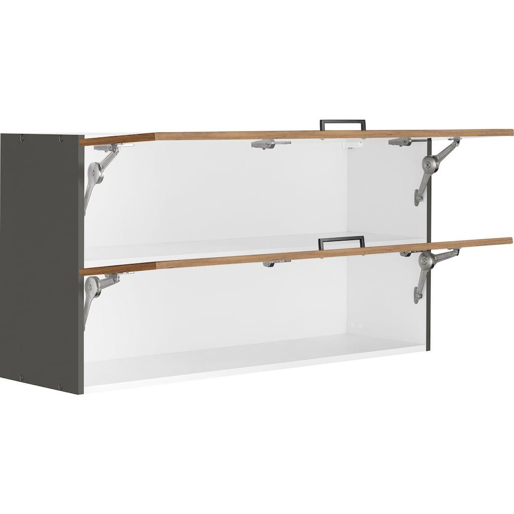 HELD MÖBEL Klapphängeschrank »Trier«, mit 2 Klappen, Breite 110 cm