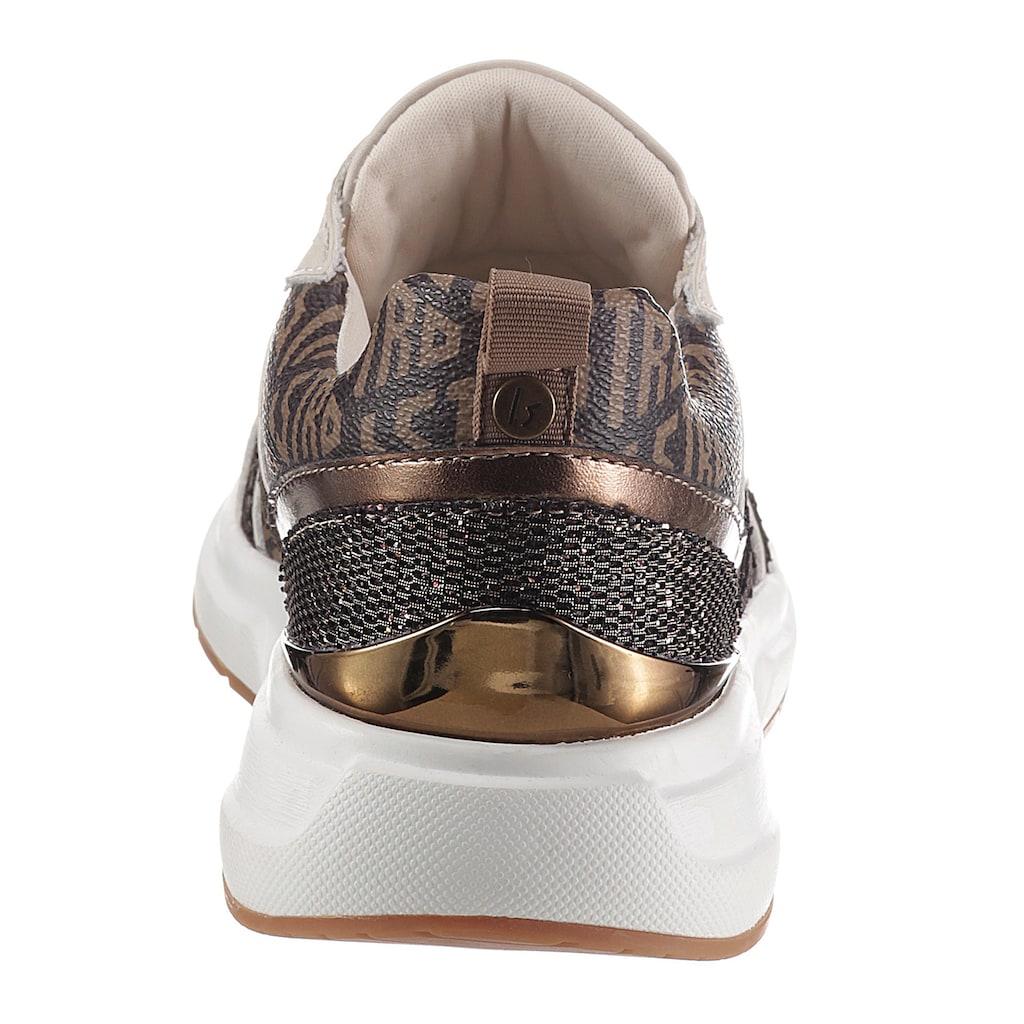 La Strada Keilsneaker »Fashion Sneaker«, mit Logodrucken