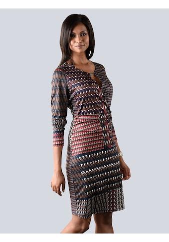 Alba Moda Jerseykleid in farblich harmonischem Grafikprint kaufen